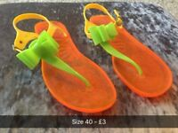 Ladies Jelly Sandals
