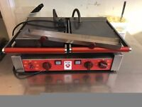 DOUBLE ELECTRIC GRIDDLE FLAT