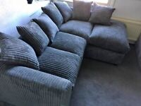 FACTORY PACKED DYLAN JUMBO CORD CORNER SOFA AND 3+2 SOFA SET AVAILABLE