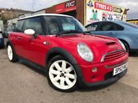 **STUNNING** MINI COOPER S 1.6 (2002) - 59,000 MILES - RED/WHITE - NEW MOT - HPI CLEAR!