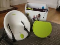 Beaba kids booster seat with tray and original box