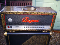 BUGERA 1990 120W VALVE AMP HEAD RE-VALVED ETC includes footswitch