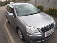2006 VW POLO 1.4 PETROL 3DR AUTO GEARBOX, ONLY 65K FULL SERVICE HISTORY, LADY OWNER, 4 MONTHS MOT,