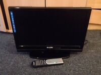 """TV Sanyo 19"""" with built-in DVD player"""