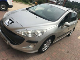 PEUGEOT 308 SW ESTATE 1.6L DIESEL VERY CLEAN IN AND OUT