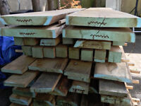Beautiful oak planks, ideal for furniture making, large quantity