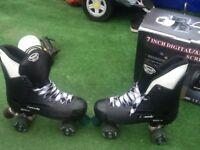 Size 8 quad skates