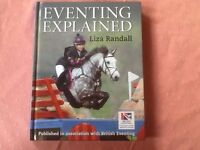 Equestrian book- Eventing Explained by Liza Randall