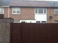 3 bed house with enclosed gardens in central Glenrothes