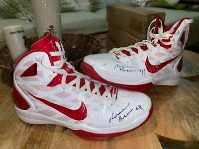 RONNIE BREWER AUTOGRAPHED GAME WORN USED SHOES CHICAGO BULLS 2011 SEASON 45d144ab9