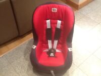 Britax ECLIPSE group car seat for 9kg upto 18kg(to 4yrs)this is a 2016 model -only used for 2weeks