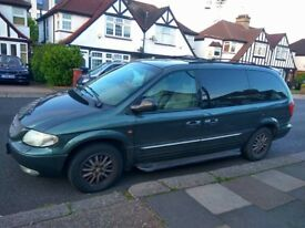 CHRYSLER GRAND VOYAGER LIMITED AUTO 2001