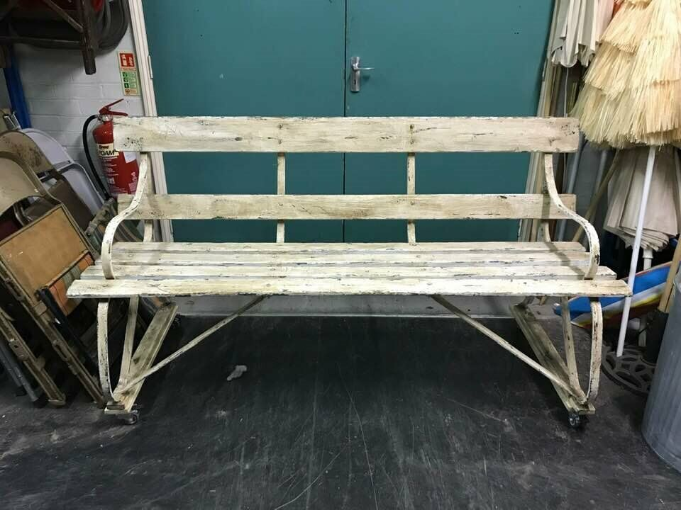 Swell Distressed Wooden Bench In Kennington London Gumtree Theyellowbook Wood Chair Design Ideas Theyellowbookinfo