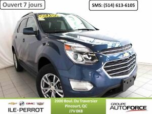 2016 CHEVROLET EQUINOX AWD LT, AWD,  TOIT OUVRANT,  BLUETOOTH, C