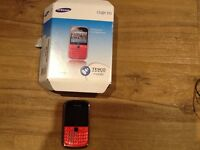 SAMSUNG CHAT 335 PAYG PHONE