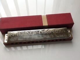 Hohnor chromatica bass harmonica as new