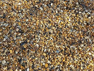 Bulk Bag 10mm Pea Gravel / Stone / Shingle 850KG(Drainage,Landscaping,Driveways)