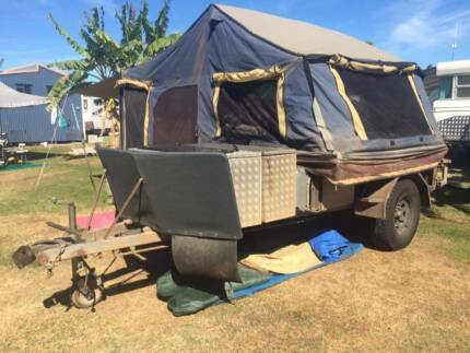 Custom built off road camper trailer