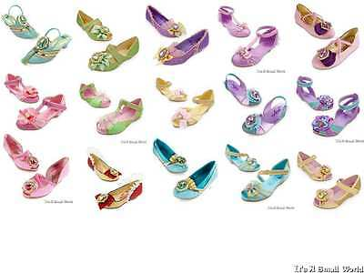 Disney Store Princess Ariel Aurora Belle Rapunzel Dress Up Costume Shoes - Disney Ariel Shoes