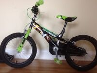 Childs Ben 10 bicycle for sale. Suitable for child aged 4-7 years. Good condition