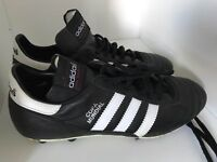 Addidas Black Copa Mundial Football boots - Excellent Used Condition( UK size 8)