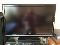 Sharp 37 Inch LCD HD TV, Freeview, Remote. NO OFFERS OR TIMEWASTERS