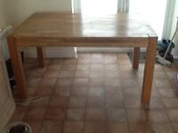 Rectangular Oak Dining Table With Extensions
