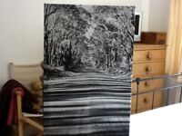 Canvas wrap - picture (black and white)