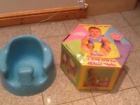 Bumbo baby sitter(baby seat)-Award winning,world-wide multimillion selling-washed and cleaned