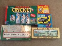 Collection of 5 unusual board games