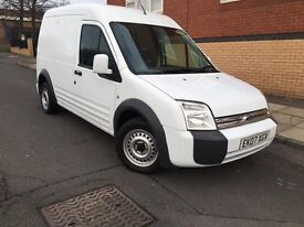 2007 FORD TRANSIT CONNECT HIGH ROOF FSH