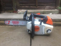 Stihl MS201TC chainsaw with 12 inch bar 2 of 2