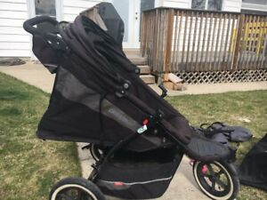 Phil & Ted's  Double In-line Stroller