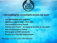 Body shop at home consultants needed!