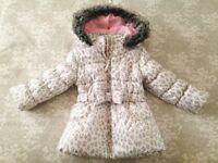 Girl's coat, age 3-4