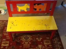 IKEA children's bench