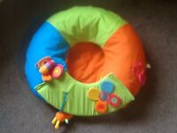 Redkite Baby Inflatable Sit me Up Ring vgc
