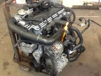 VOLKSWAGEN GOLF 105 BHP 4 CYLINDER BKC ENGINE COMPLETE WITH TURBO