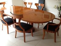 Biedermeier Style Tables and chairs