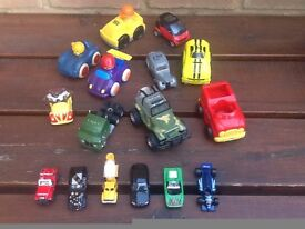 16 Toy Cars for Children