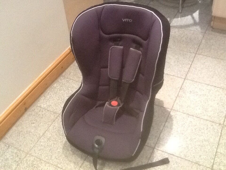 Mamas & Papas VITO group 1 car seat for 9kg upto 18kg(9mths to 4yrs)-reclines,is washed & cleaned