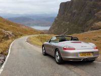Porsche Boxtser - Excellent condition - Swap or sell - Car or Bike - 1 year MOT