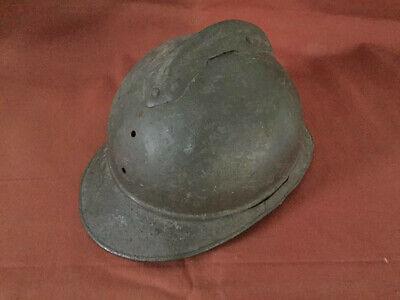 WW1 era Adrian helmet relic condition