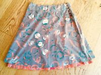 WHITE STUFF Reversible Skirt Size 10