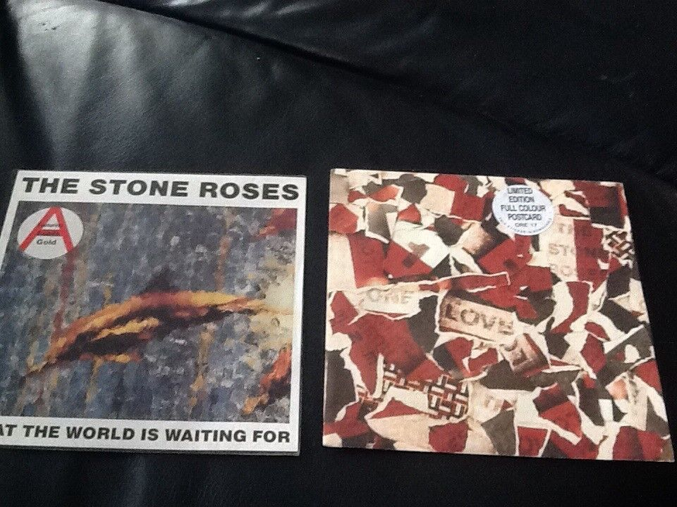 2x James music DVD and stone roses records