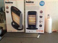 2 Beldray halogen heater (new)