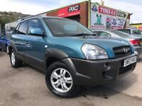 **3 MONTHS WARRANTY** HYUNDAI TUCSON CRTD CDX 2.0 (2007) - LOW MILES - LONG MOT - HPI CLEAR!