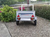 Erde 122.2 Car Trailer