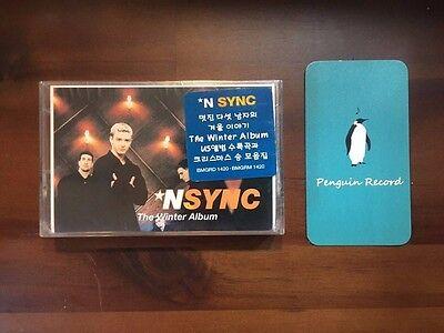 NSYNC - THE WINTER ALBUM CASSETTE TAPE KOREA EDITION SEALED