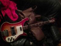 Greco 1978 RB-700 rare mij bass (exact 4001 lawsuit copy)